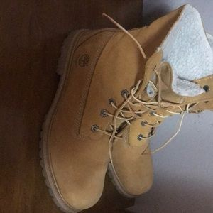 Timberland waterproof boots. Wore very little